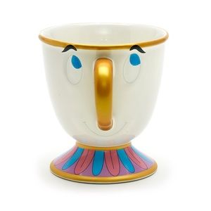 Disney Chip Character Mug - Beauty and the Beast